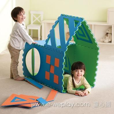 Weplay創意遊戲墊 - 彩色
