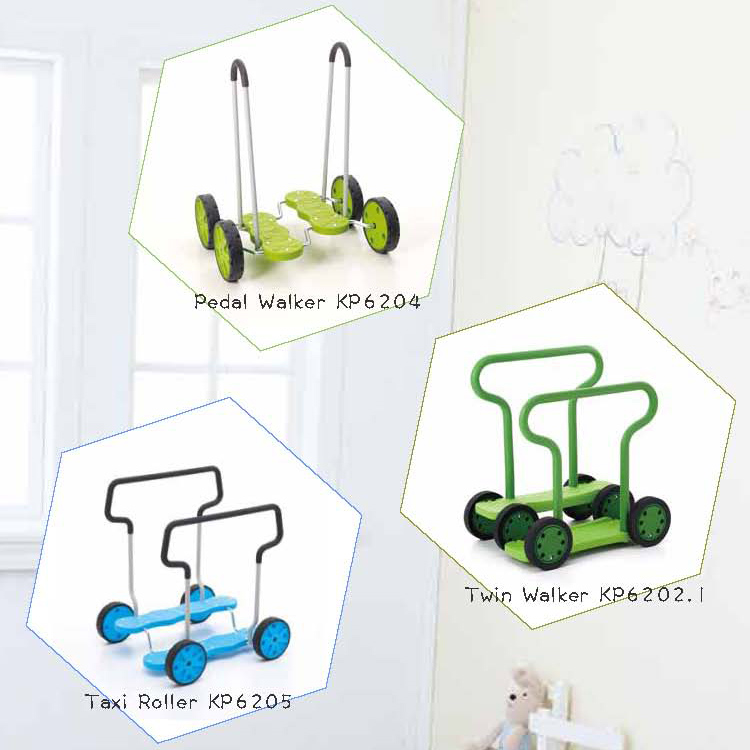 Weplay Pedal Walker, Weplay Taxi Roller, Weplay Twin Walker